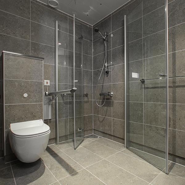 prebad badrumsrenovering ( luftad konstruktion )