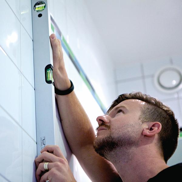 badrumsrenovering - renovera badrum med luftad konstruktion